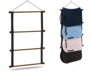 Wood rack for saddlecloth