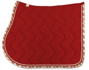 Bingo Saddle Pad-Wave Stitching