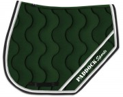 Tapis de selle sports personnalisable avec broderie paddock sports - Tapis personnalisable cheval ...