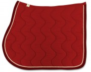 Bingo Saddle Pad-Wave Stitching