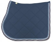 Bingo Saddle Pad-Diamond Stitching