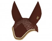 Egyptian Cotton Embroidered Ear Bonnet