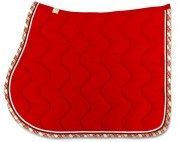 Cotton Saddle Pad-Wave Stitching
