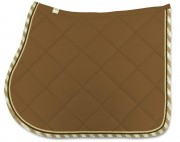 Cotton Saddle Pad-Diamond Stitching
